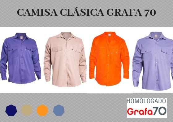 camisa clasica GRAFA 70