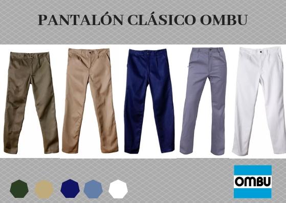 pantalon clasico OMBU