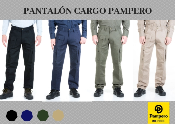 pantralon cargo PAMPERO